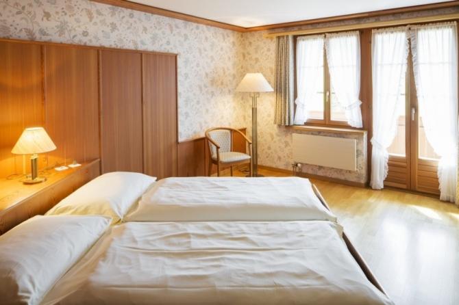 Hotelzimmer im Haghaus