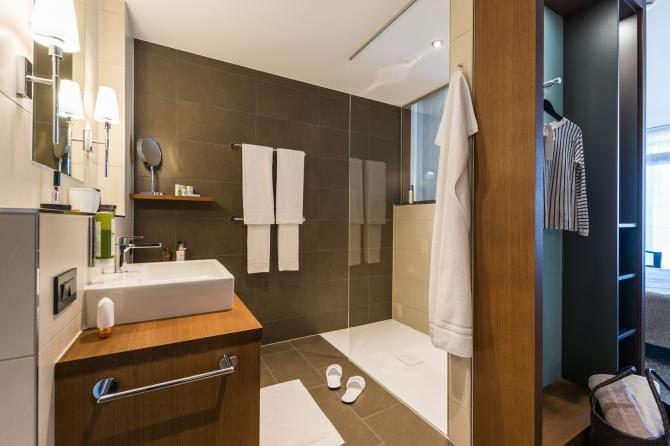 Doppelzimmer Comfort See - Badezimmer