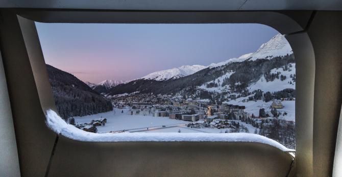 InterContinental Davos - Balkon