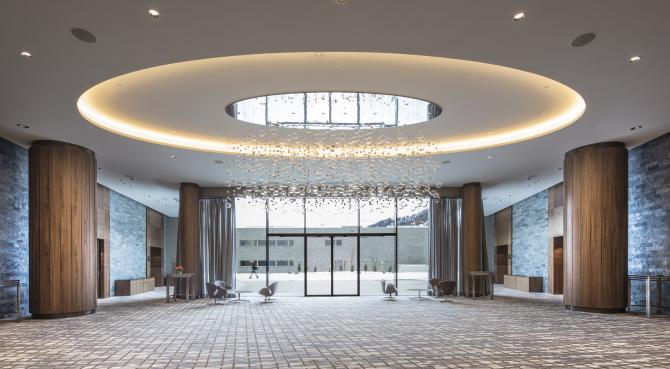 InterContinental Davos - Bankett Foyer