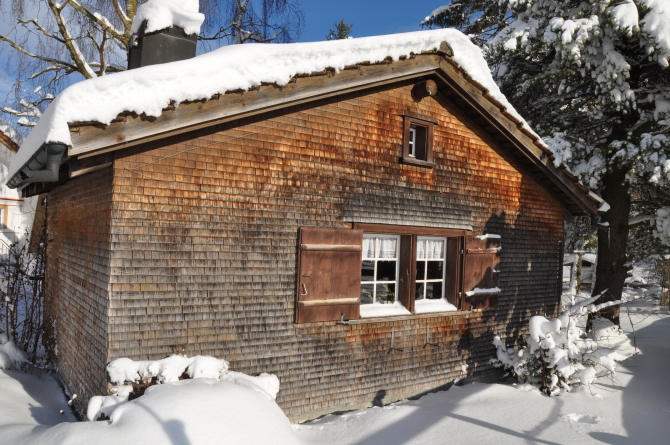 Chäshötte Winter Bären - Das Gästehaus