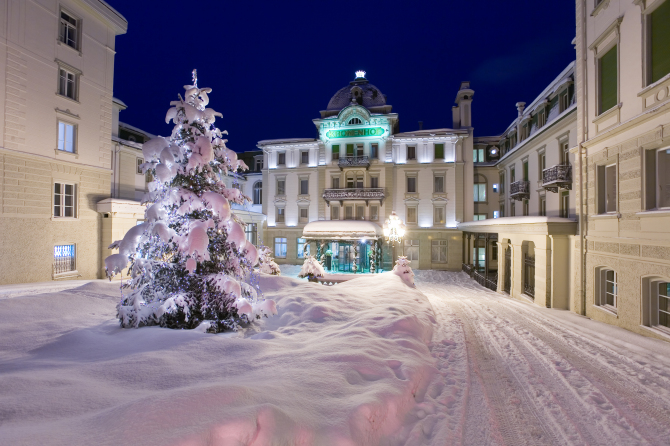 Grand Hotel Kronenhof Winter
