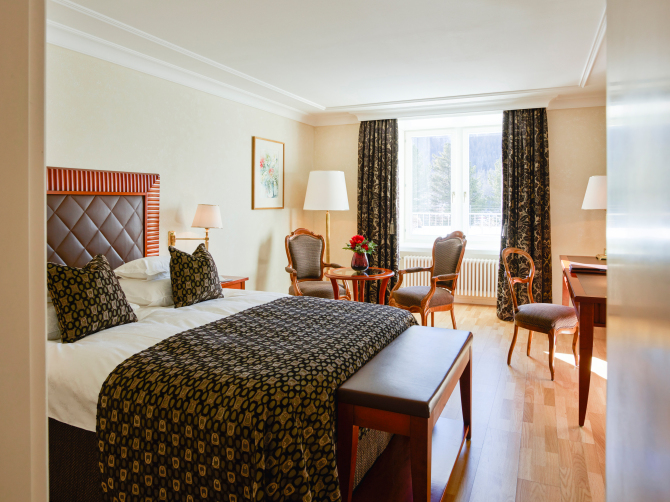 Grand Hotel Kronenhof Rooms