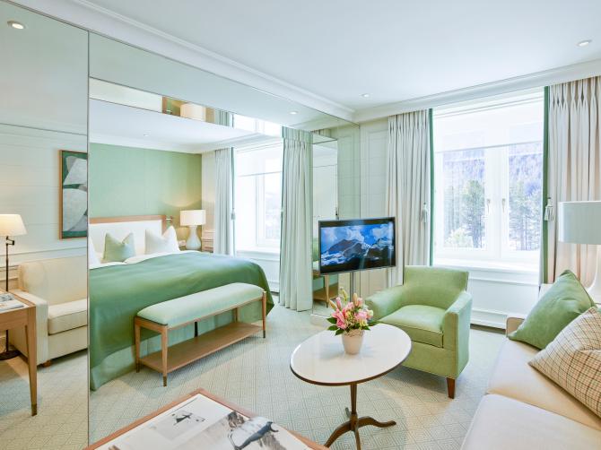 Grand Hotel Kronenhof Suite