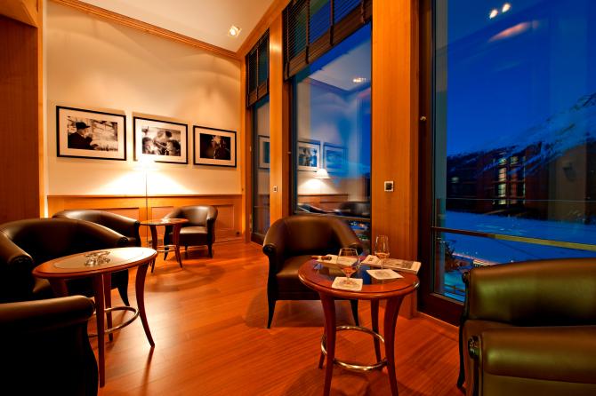 Kulm Hotel St. Moritz Lounge