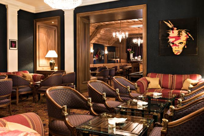 Kulm Hotel St. Moritz Bar