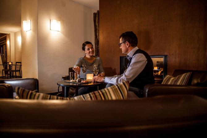 Romantische Cheminée Bar