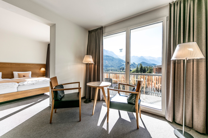 Juniorsuite im GuardaVal