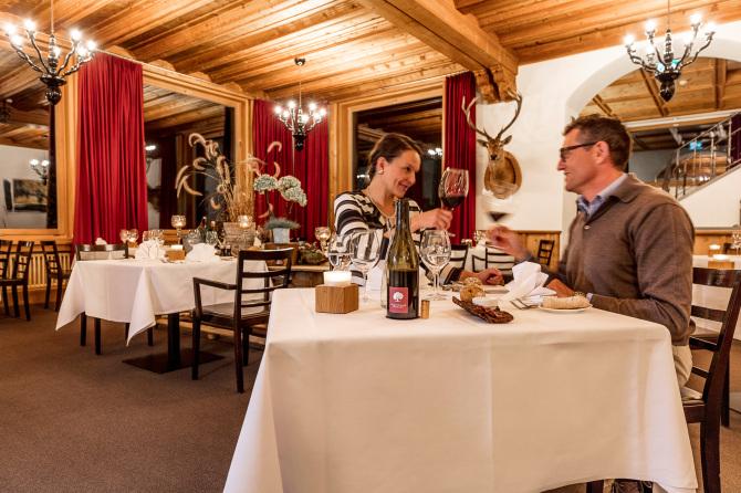 Engadiner Gourmet-Restaurant