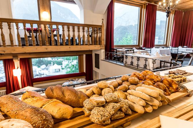 Alpines Frühstücksbuffet