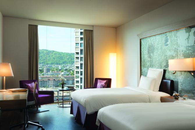 Komfort Zimmer mit getrennten Betten
