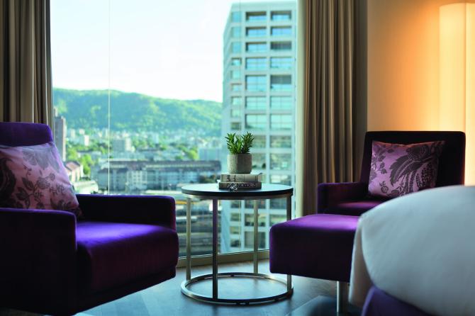 Komfort Zimmer - Sitzbereich
