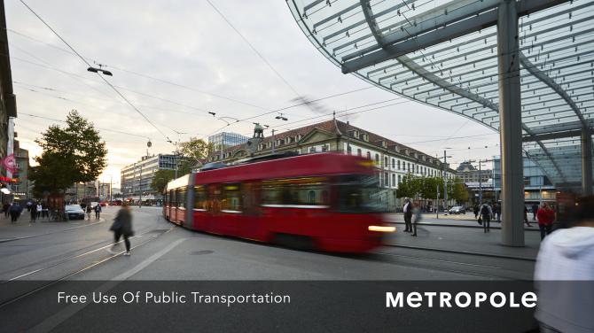 Free public transportation