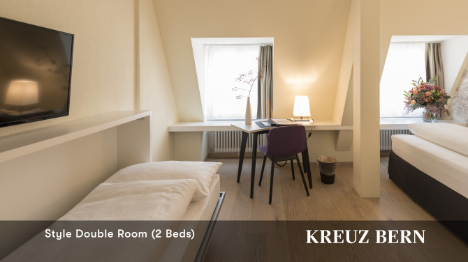 Style Double Room 2 beds