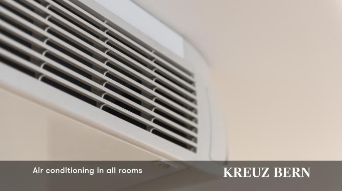 Klimaanlage in allen Zimmern