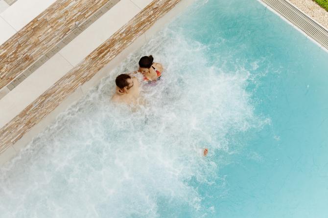 Soleaussenbad im EDEN SPA