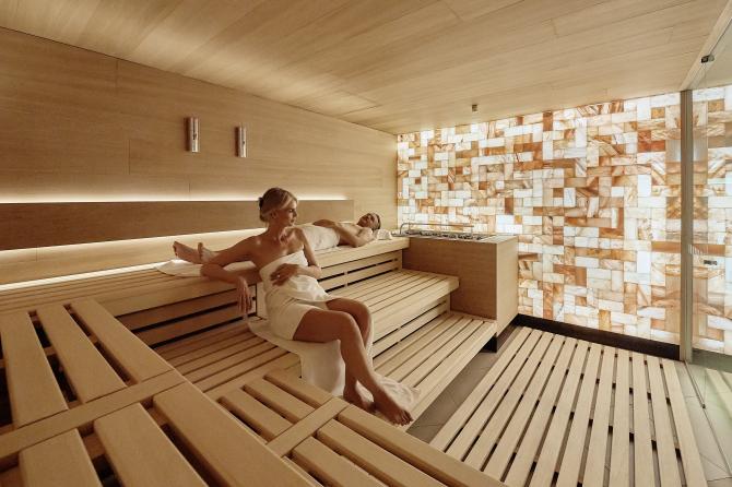 Finnische Sauna im EDEN SPA
