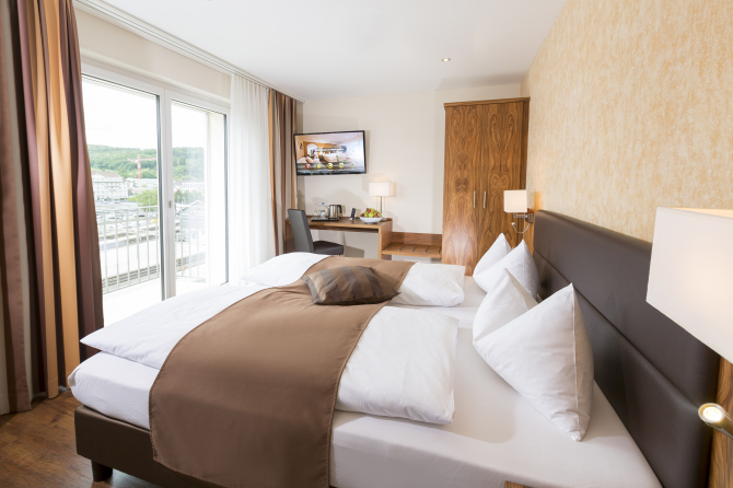 Doppelzimmer oder Zweibettzimmer