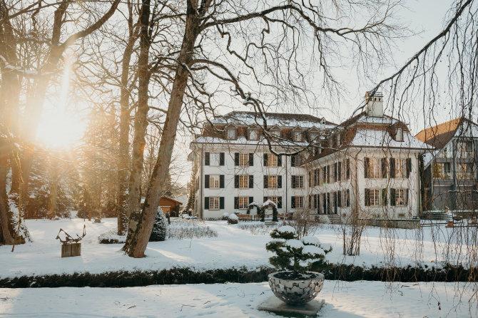 Schloss Hünigen Winter