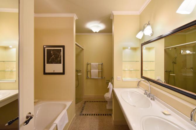 Badezimmer Oscar Peterson Suite