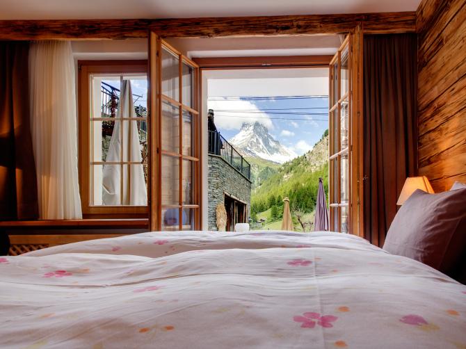 Doppelzimmer im Alpen-Chic