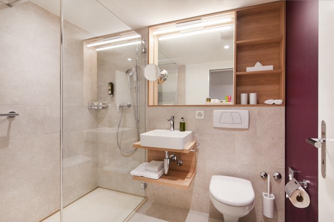 Doppelzimmer Classic Badezimmer
