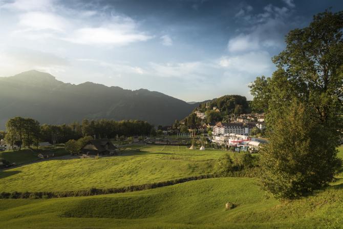 Aussenansicht Swiss Holiday Park