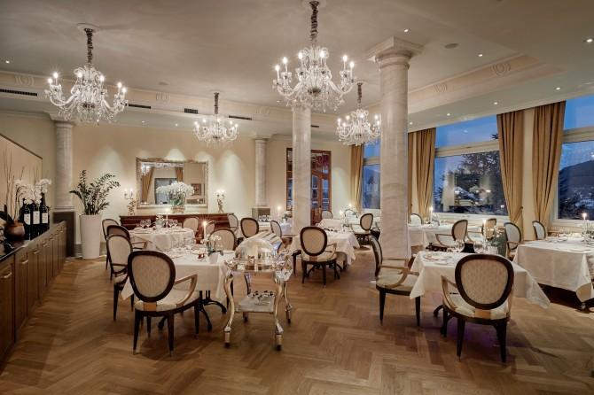Hotel Eden Spiez - Restaurant Belle Epoque