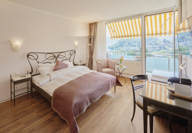 Hotel Eden Spiez - Komfortzimmer