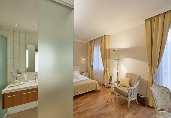 Hotel Eden Spiez - Komfort Einzelzimmer