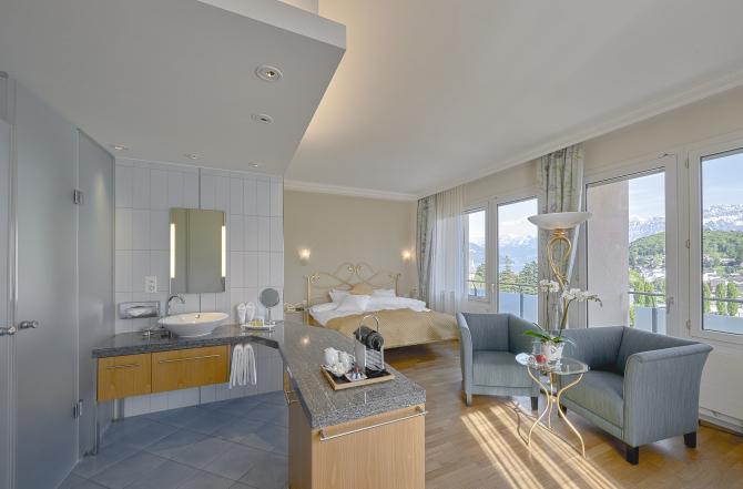 Hotel Eden Spiez - Superior Doppelzimmer