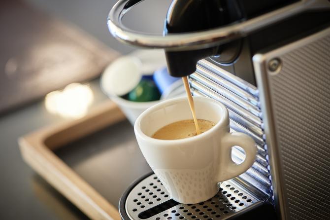 Hotel Eden Spiez - Nespresso Kaffeemaschine