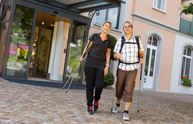 Hotel Eden Spiez - Wandern