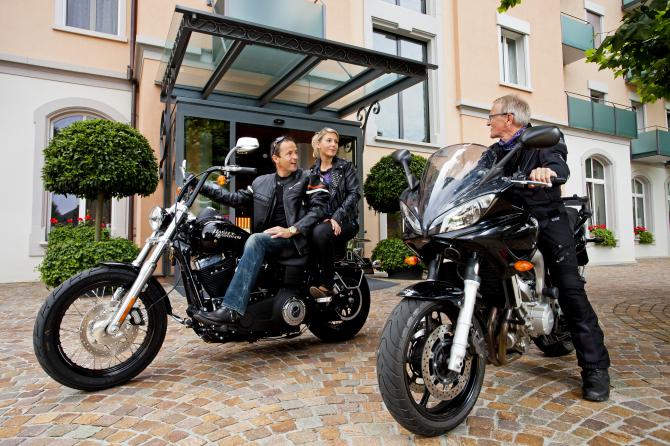 Hotel Eden Spiez - Auto- und Motorrad-Ausfahrten