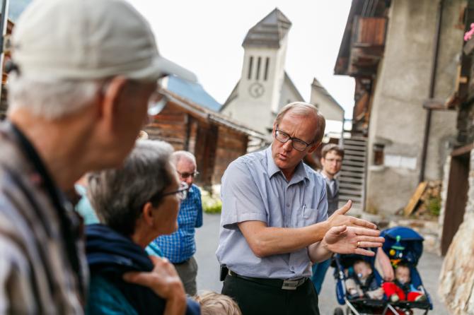 Dorf- und Kulturführungen mit Lukas Kalbermatten