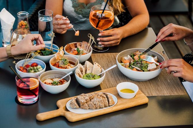 Sky Terrace Food 2
