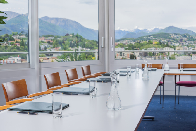 Meeting Room with lake view