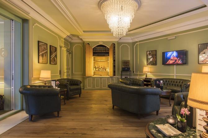Sunstar Hotel Brissago - Lounge
