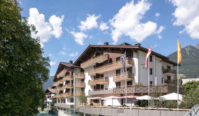 Hotel Piz Buin Klosters im Sommer