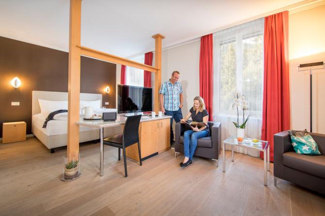 Deluxe Doppelzimmer Wetterhorn