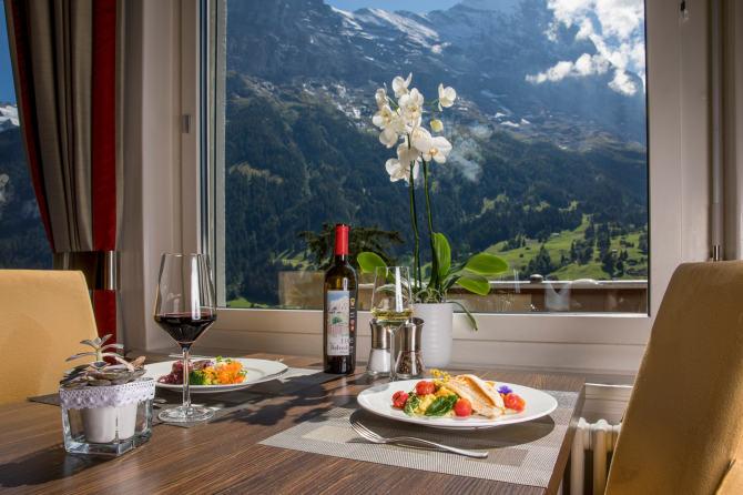 Restaurant «Belvedere»: Genussreich essen in Grindelwald