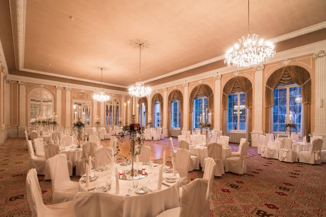 Ballsaal Dinner