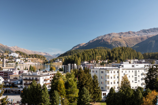 Laudinella St. Moritz See