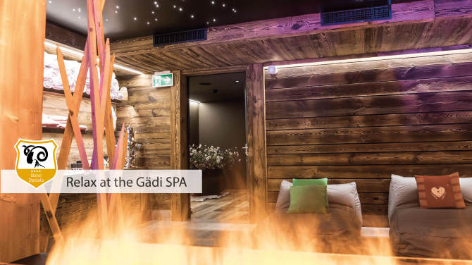 Relax at the Gädi SPA