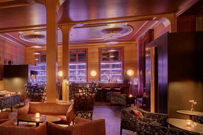 Bar im Sorell Hotel Zürichberg