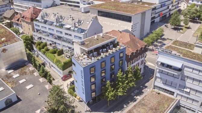 Im Herzen von Baden: das Blue City Hotel