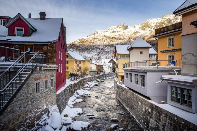 Andermatt Village 1