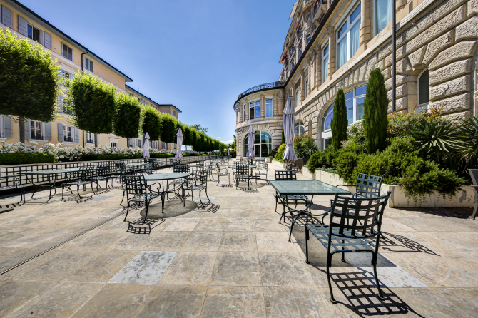 Terrasse Salon Richemont