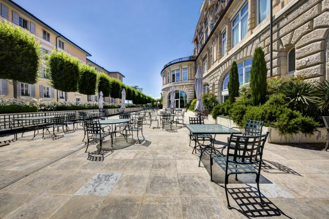 Terrasse Salon Richemont
