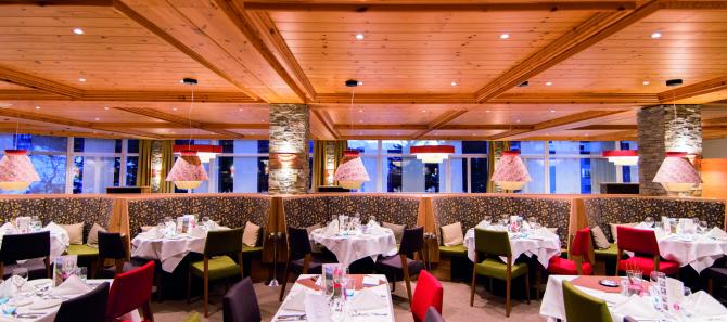 Sunstar Hotel Davos Restaurant